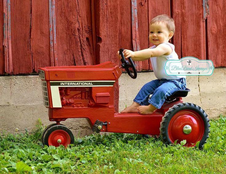 Kids photography,farming,International tractors