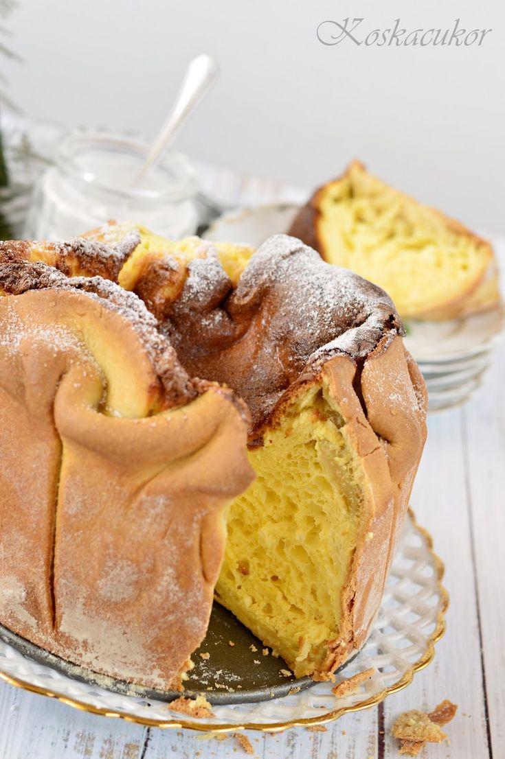 Soffione di ricotta a süti neve, amit kár lenne lefordítani, mert pont olyan szép, mint amilyen finom.