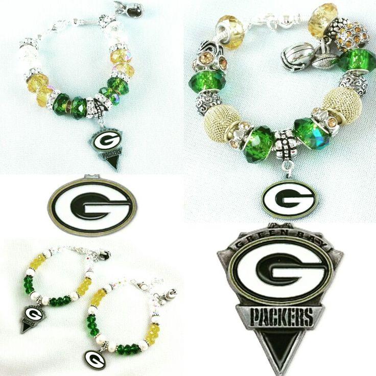 Go Packers! Football bracelets on sale now! Enter code: FOOTBALL17 www.jewelrybyashherrera.com