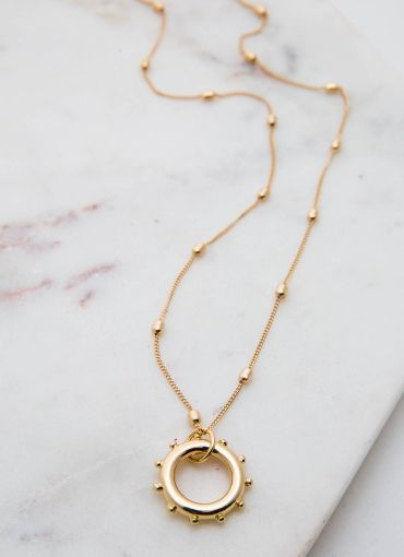 Sail Away Necklace - Gold