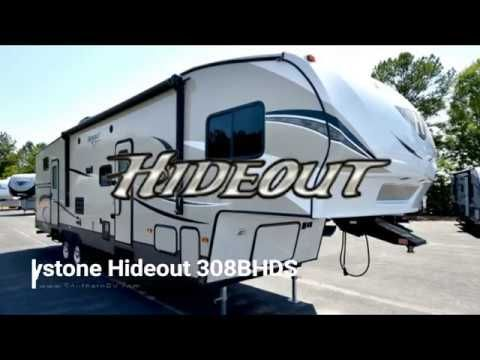 2018 Keystone RV Hideout 308BHDS at Southern RV in McDonough, Georgia  #rv #gorving #tinyhouse #Travel #camping #camp #glamping #Tinyhome