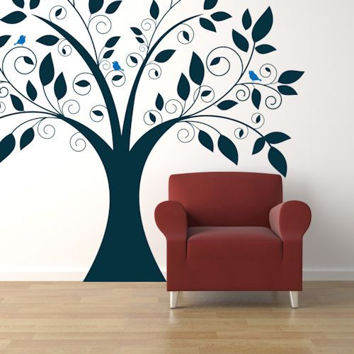 Best Wall Decals Images On Pinterest Wall Decals Floral Wall - How to put a decal on my wall