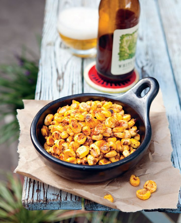 Toasted corn snack recipe by Rachael Lane | Cooked
