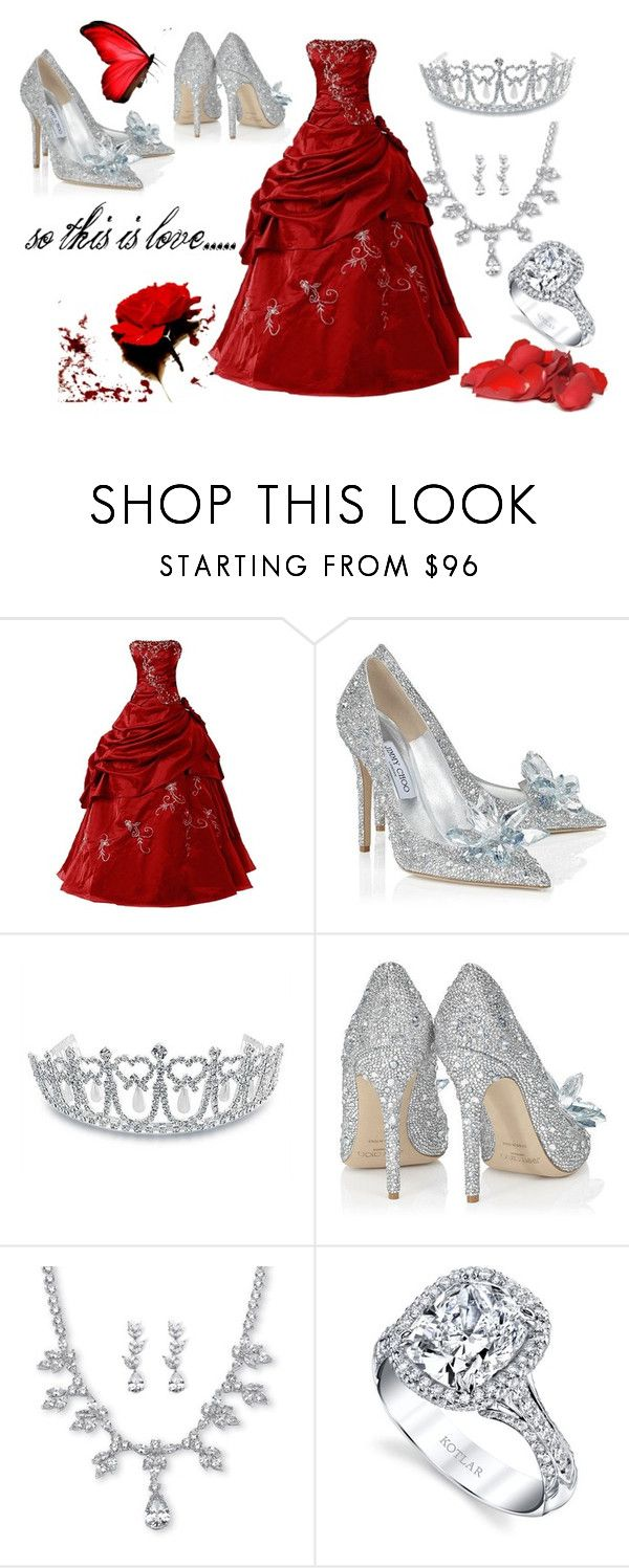 """""""so this is love..."""" by ritty18 on Polyvore featuring Jimmy Choo, Bling Jewelry and Palm Beach Jewelry"""