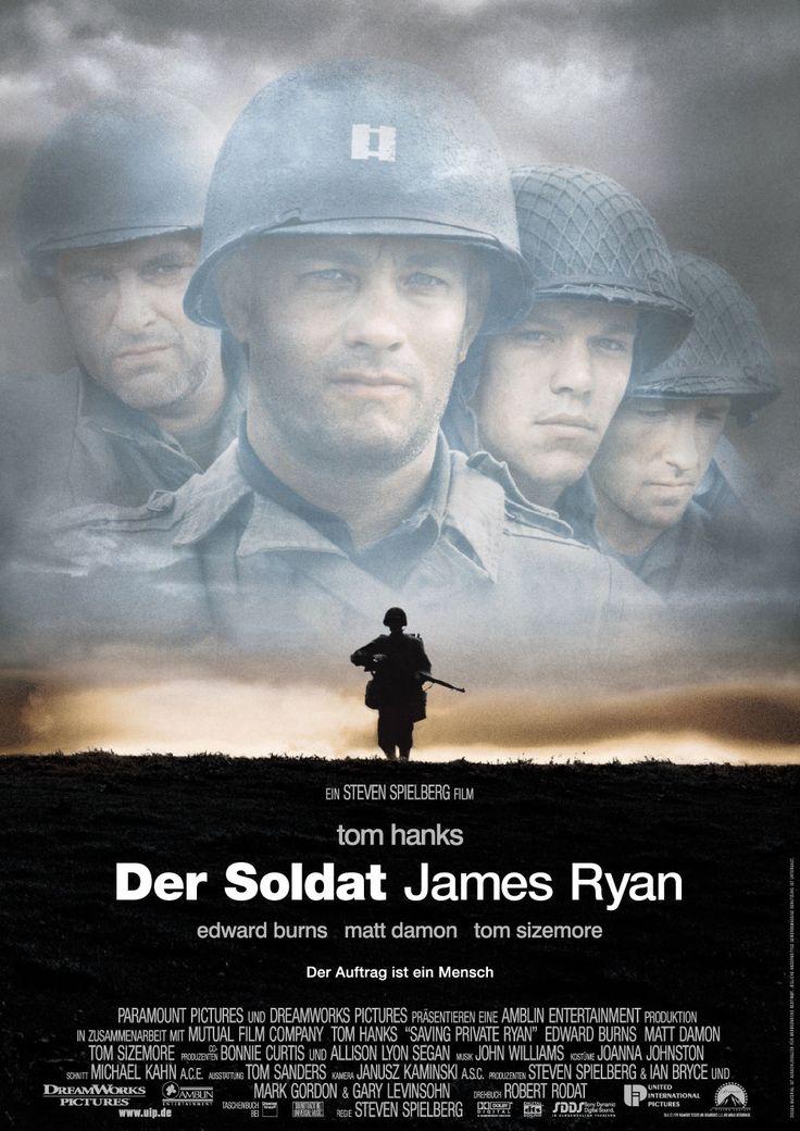 Der Soldat James Ryan -nicht belehrend oder wertend, dafür eine realistische Sicht auf den Krieg.