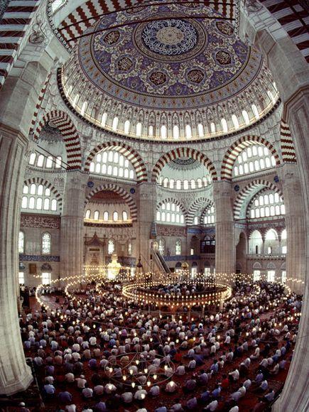Suleymaniye Mosque, Istanbul (Turkey).