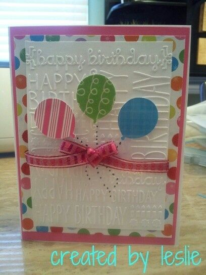 Cricut & cuttlebug card by katie.frederickwhitta