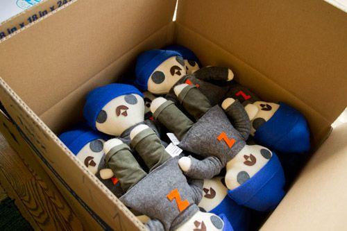 Jeffrey @zeldman dolls