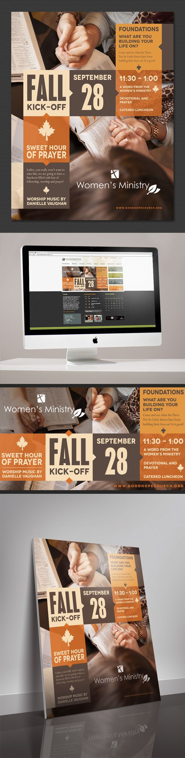 GHBC Fall Event Graphics by Carolina Reprographics