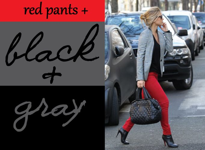 Red-Pants_Black-and-Gray