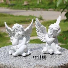 Continental смолы ангел украшения ангел фигурка подарки домой украшение подарок творческий свадьбы