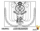 Belgian Pro League RSC ANDERLECHT Soccer Printables For Kids at YesColoring.com  Slide Crayon!