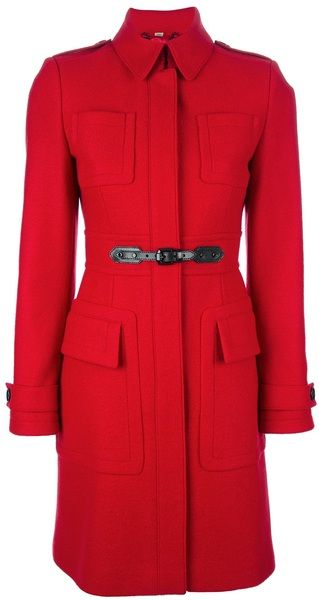 Fitted Coat - BURBERRY