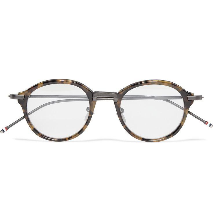 Thom Browne Round-Frame Optical Glasses   MR PORTER