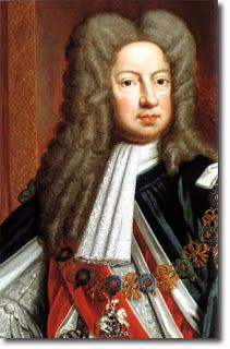 King George I was German down to his bone marrow.  He grew up fully immersed in and proud of his Teutonic roots.  He never learned English while King and spent as much time as he could in his native Hanover.  By the time he came to the throne his heir, the future George II, was already married to a German, and George II's own heir was also later paired with a German princess.
