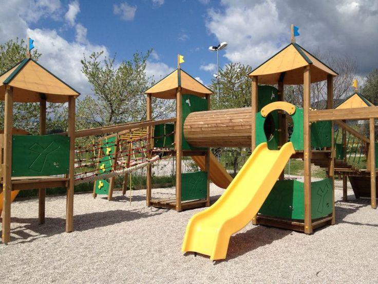 Parco Giochi esterno tutto in legno per i bimbi Coopers!! Nuovissimo sCendi e sAli!! Tarzan in arrivooo! @Cooper's Usago