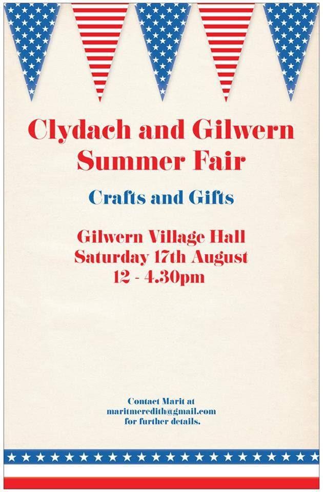 Clydach and Gilwern Summer Fair 17th August 2013