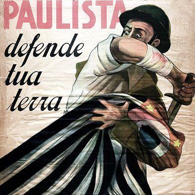 """""""É 1932 que nos fita e cobra dos vivos o compromisso com seus mortos!"""" (Paulo Bomfim) Retirado do site TUDO POR SÃO PAULO"""