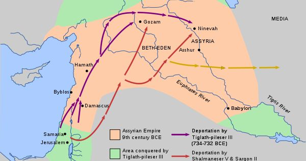 Map of Deportation of the Jews by the Assyrian Empire  Recent Posts:   A Map of Egypt and the Akkadian Empire   A Map of the Nile Delta in Ancient Egypt   Map of Ancient Egypt   Ancient Egypt Map   Ancient Egypt map (Lower Egypt)   Map of Ancient Egypt Old and Middle Kingdoms   Map of Asia Minor Mesopotamia and Ancient Egypt
