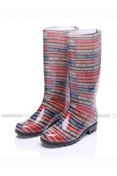 Çizme - Karışık Renkli - Rain https://modasto.com/just-shoes/kadin-ayakkabi/br93079ct13 #modasto #giyim