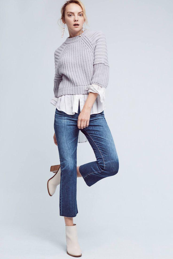 Slide View: 1: AG Jodi High-Rise Kick Flare Jeans