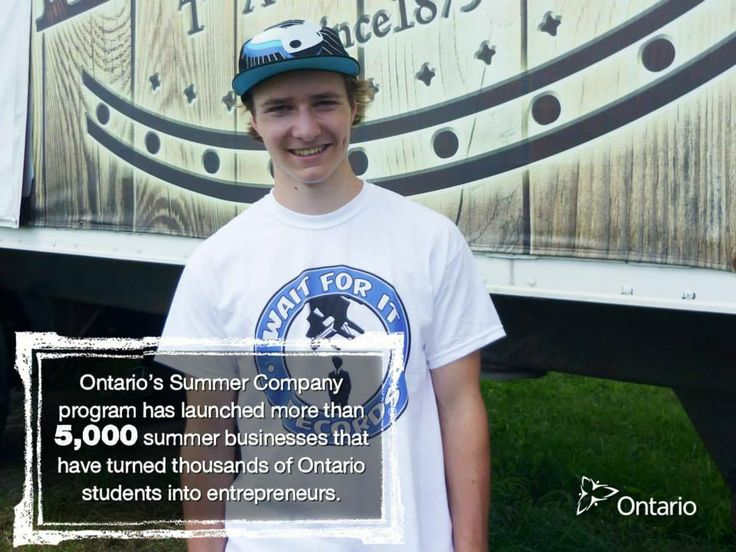 Ontario's Summer Company program helped students launch more than 661 businesses in 2013. Reserved entry is one of the prizes for #MakeYourPitch