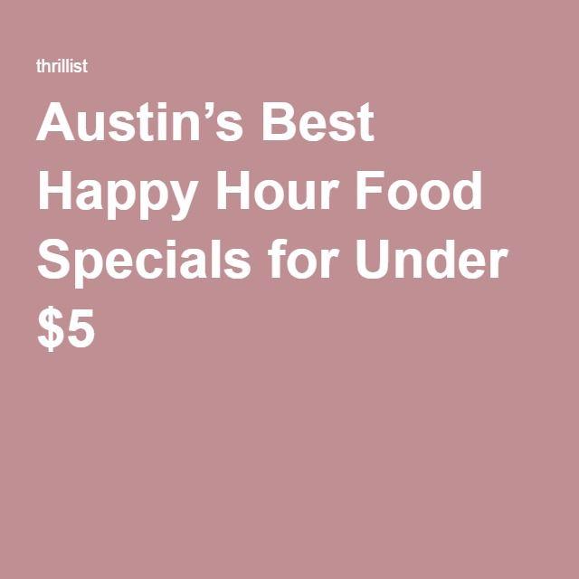 Food deals austin
