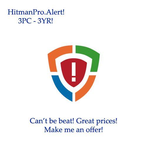 HitmanPro.Alert! 3PC – 3YR