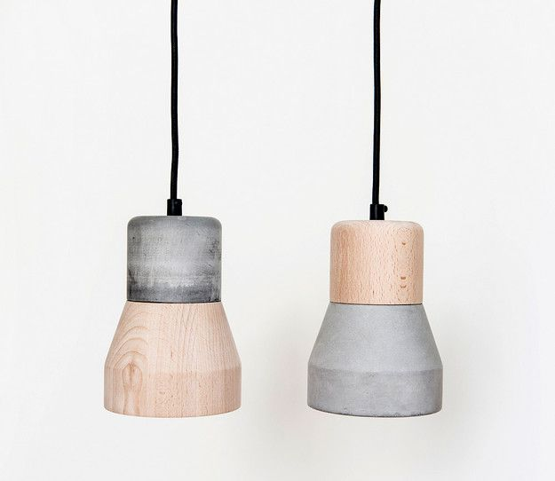 CementWood Lamp by Thinkk Studio | mocovote.com