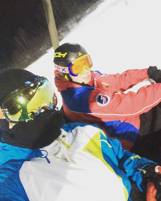 #snowboarding#friend#good#day#follow#турист