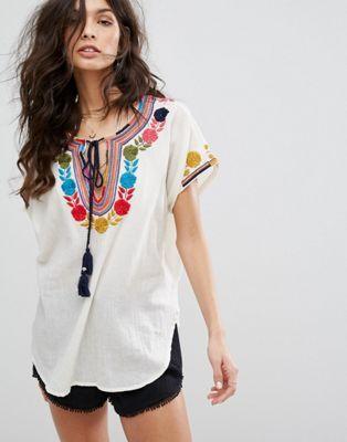 Star Mela Lani Embroidered Top