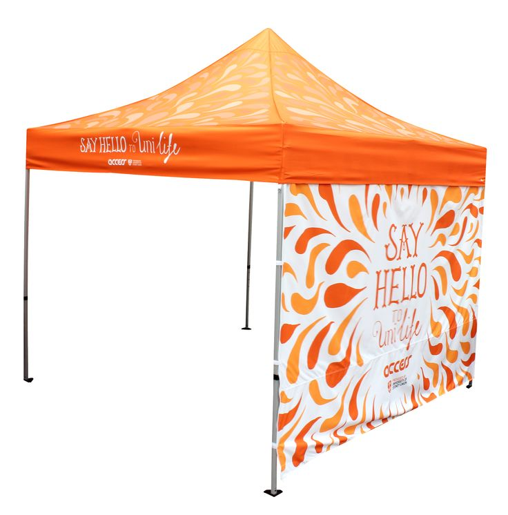 Nothing like the colour orange to draw attention in a crowd. We know all about it at Star Outdoor! Visit us at www.staroutdoor.com.au to get custom-printed marquees and other outdoor promotional products for your event.