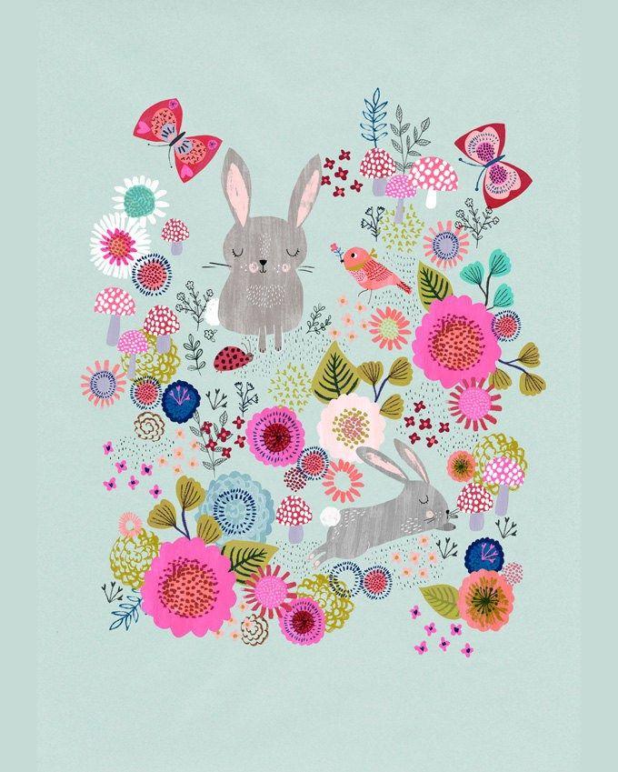 Animal illustrations - Guestpinner @happymakersblog - llustrator: Rebecca Jones #kidsdinge