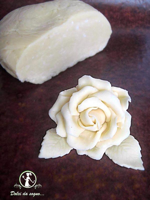 Dolci da sogno...: Cioccolato plastico bianco (ricetta con il miele)