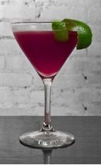 If you go a little south of Bahia, you're sure to find Rio de Janeiro. The South of Bahia cocktail is a purple colored drink made from Cedilla acai liqueur, tequila, lime juice and simple syrup, and served in a chilled cocktail glass.