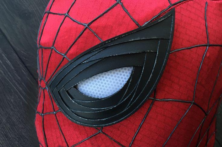 spiderman civil war   Made these Spider-Man Civil War lenses : Spiderman