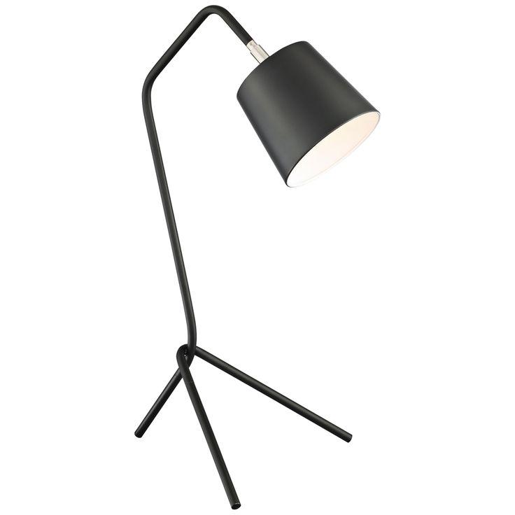 Decorating Smallspace Kitchen: Lite Source Quana Black Metal Tripod Desk Lamp