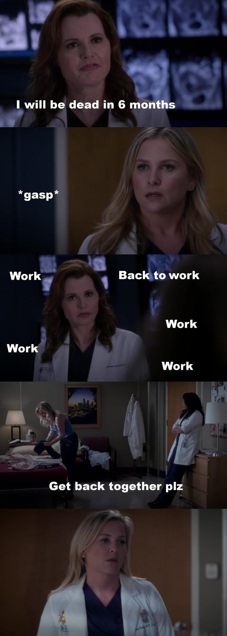 Ok, Dr Herman, that's not a reason to be a bitch like that K?! This isn't how you want ppl to remember you.  And PLEASE can someone give a break to Arizona ... <3