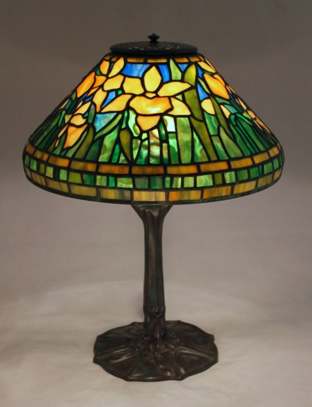 Großartig Buntglaslampen, Vintage Lampen, Narzissen, Pinguine, Tischlampe,  Kronleuchter