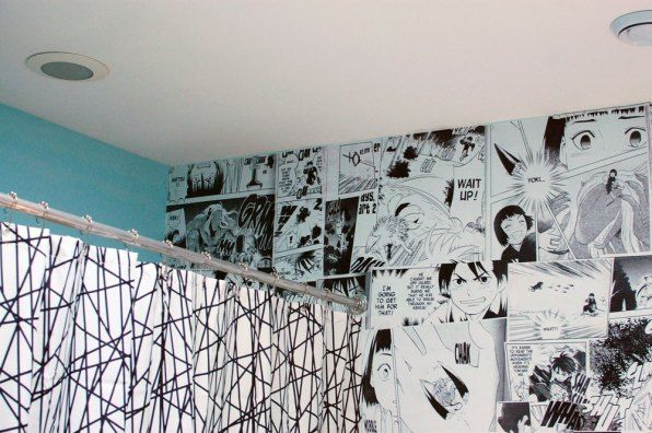 How To Make Your Own Anime Mural Wall Wise Craft Handmade Anime Decor Wall Murals Diy Anime Wall Art