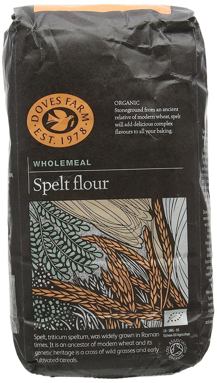 Doves Farm Organic Spelt Flour, 1kg Amazon.co.uk Prime