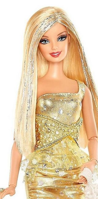 New Fashionistas Barbie Gold by Alexandra.Stempford, via Flickr