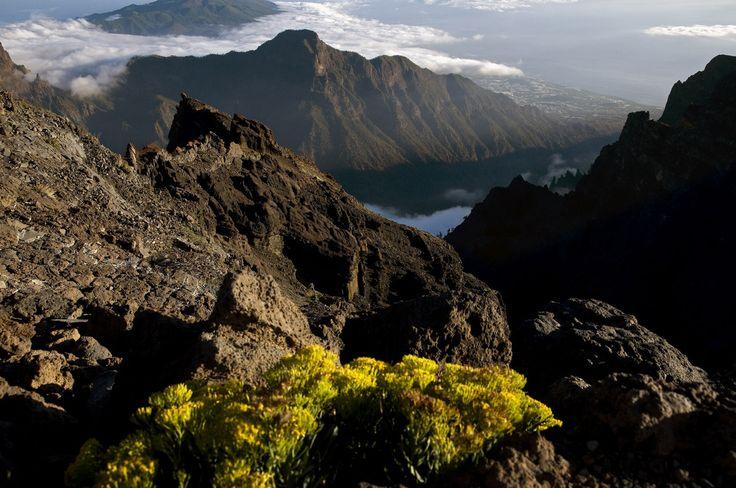 La Caldera de Taburiente:.La Palma. Canary Islands.Spain