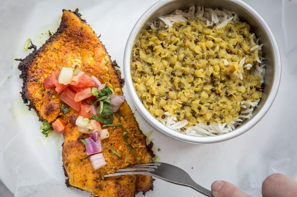 Bombay Street Food Co. is the first bricks and mortar restaurant from sisters-in-law Amreen and Seema Omar, a duo that's been making the rounds at farmers' markets, pop-up dinners, and vendors at Market 707 over last couple of years.  Now settled into a permanent address on Bay St. where the What...