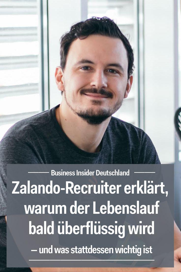 Zalando-Recruiter erklärt, warum der Lebenslauf bald überflüssig wird — und was stattdessen wichtig ist