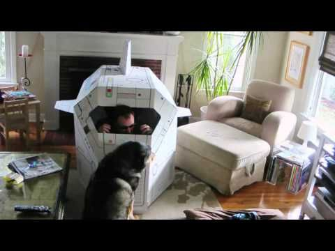 """After Stargate""  David Hewlett being funny.  And Mars the Dog!  And The Doctor!  (sortof)"