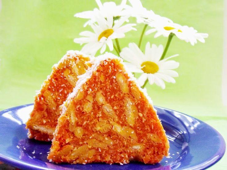 Salam de biscuiţi portocaliu (cu morcovi) - simonacallas