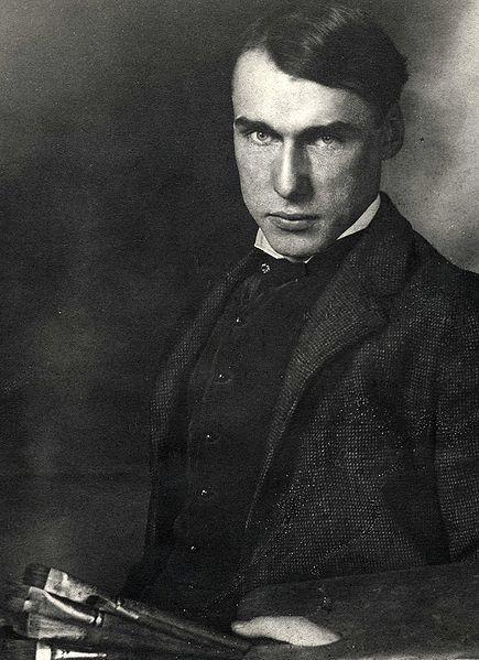 Walt Kuhn in his studio, c.1904 -1905 Pintor estadounidense. Fue uno de los organizadores de la Exposición Internacional de Arte Moderno en 1913.