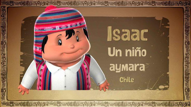 Isaac es un niño de origen aymara quien nos cuenta cómo son sus costumbres y la vida en medio del desierto en el norte de Chile, lugar donde las fronteras con los países vecinos se acortan gracias a una cultura, tradición y comercio en común.