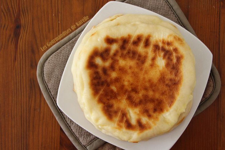 Cheese Naan, en modifiant fromage et beurre. Version prefou Vg